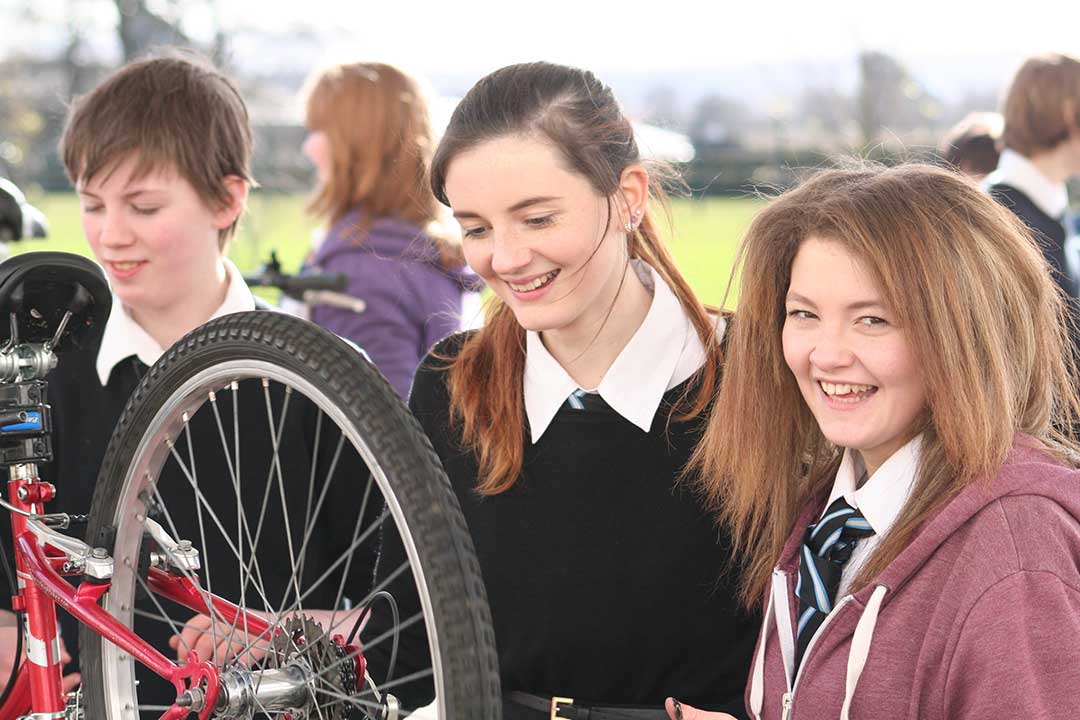 Pupil Dr Bike maintenance