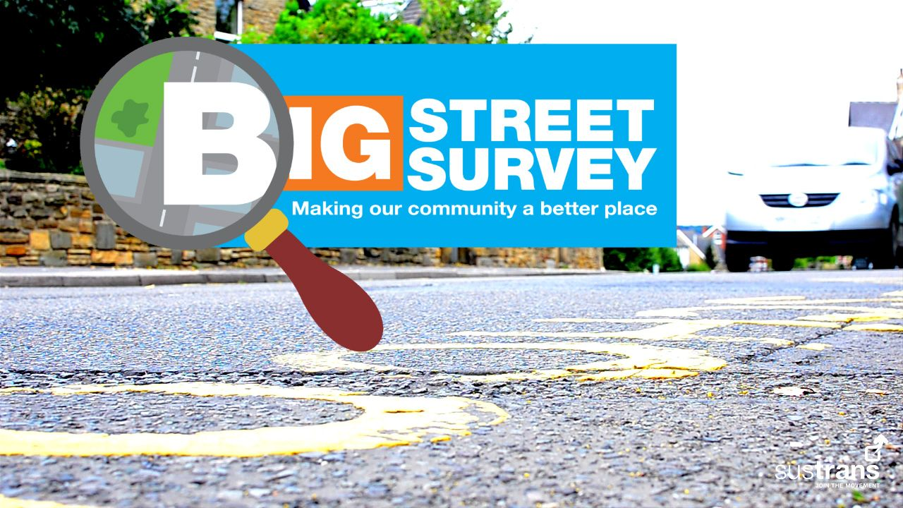 Sustrans Big Street Survey Logo