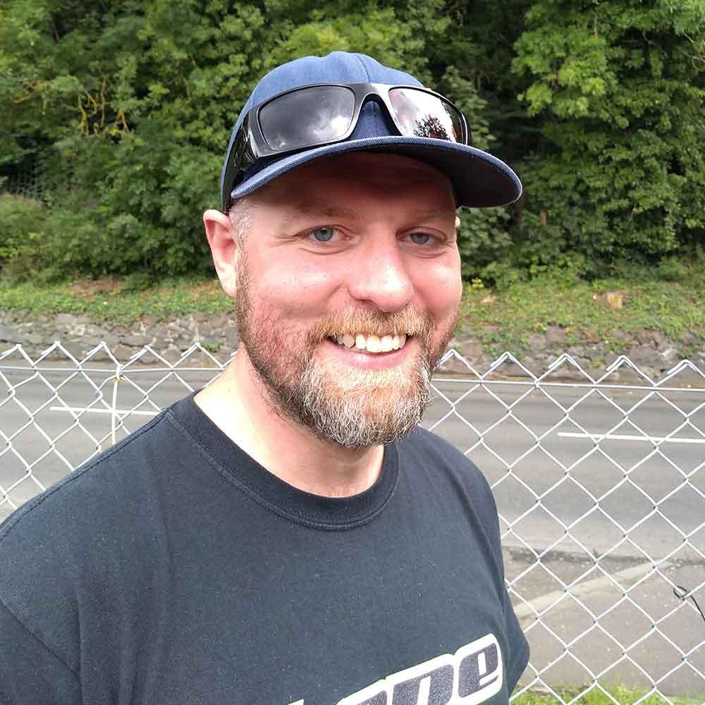 Bryan Jardine I Bike officer Fakirk