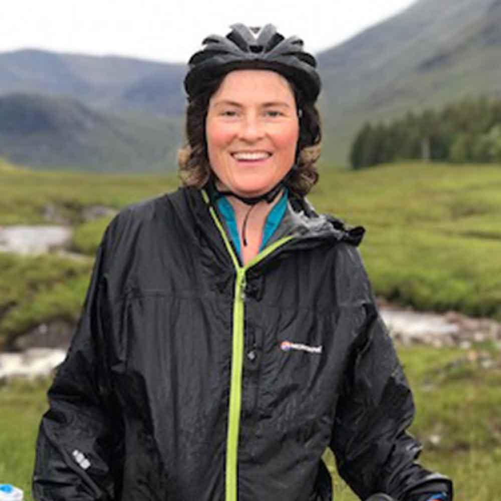 Helen McCafferty I Bike Coordinator