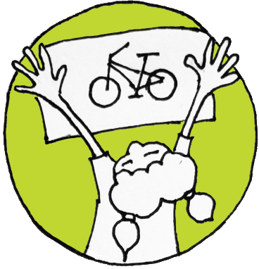 Bike poster graphic