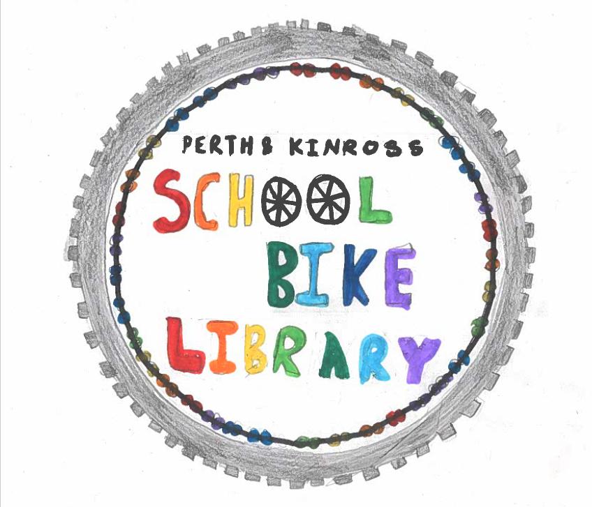 Logo for Perth & Kinross School Bike Library