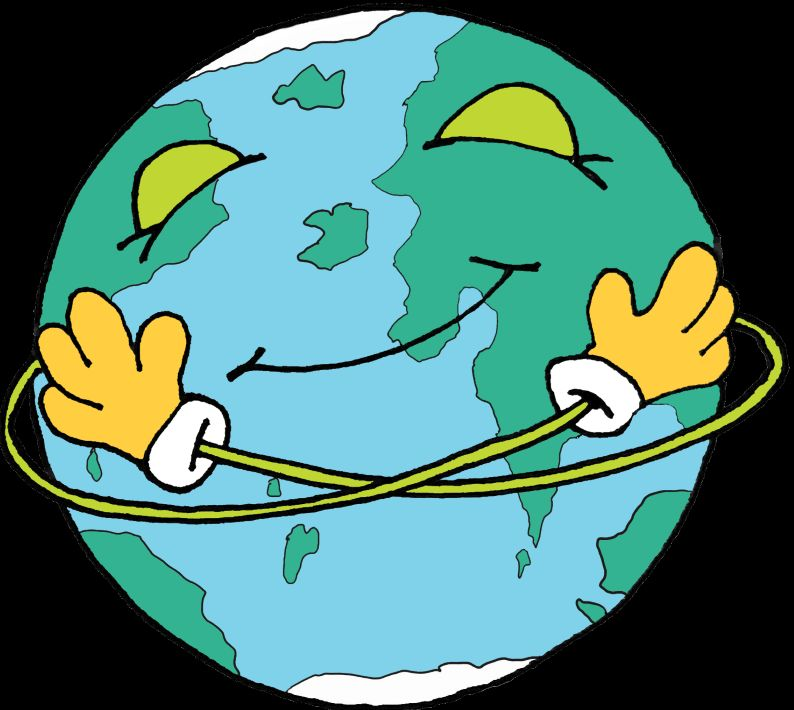 Happy planet Cartoon