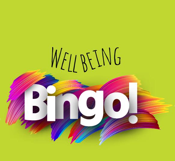 Wellbeing Bingo Colorful logo